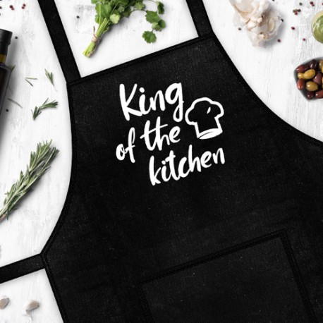 """Фартух """"King of the kitchen"""""""